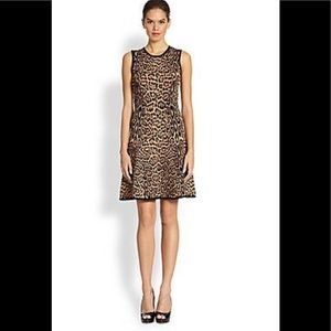 Pink Tartan Leopard Dress